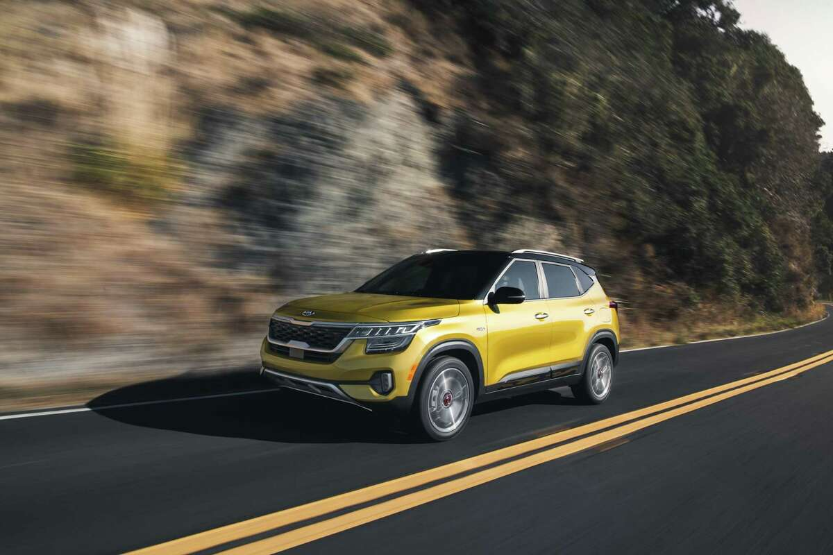 Kia's new crossover the 2021 Seltos offers a choice of two engines and transmissions in the Seltos - the turbocharged Four, with a 7-speed dual-clutch automatic and a normally aspirated, 146-horsepower Four with a continuously variable transmission.