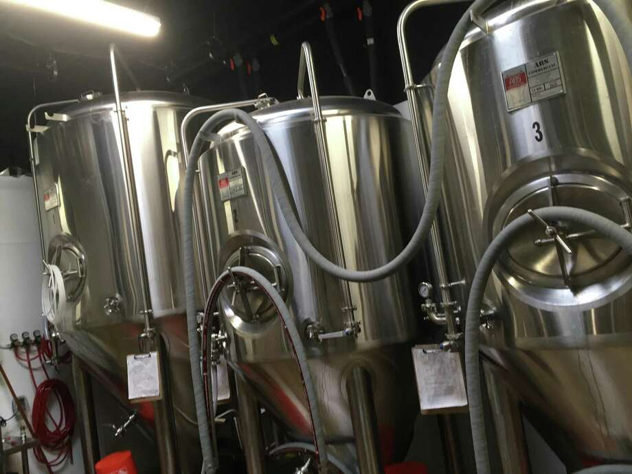 Brew Monkey Beer Co. is equipped with a 15-barrel brewing system and will debut with at least five beers on opening day Aug. 29. Photo: Chuck Blount /Staff