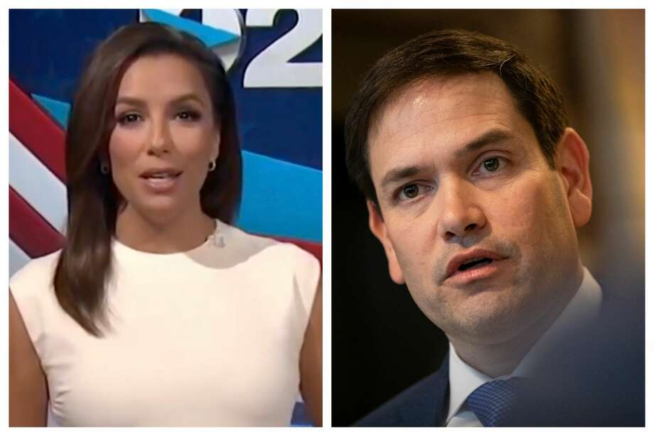 Marco Rubio Slammed For Tweet Criticizing Eva Longoria As Host Of Democratic National Convention Houston Chronicle