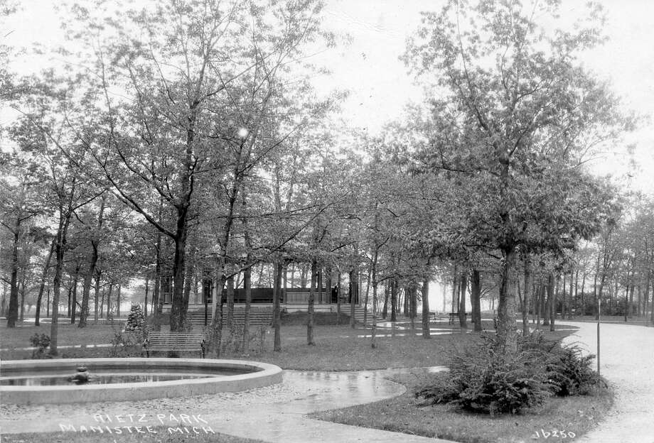 A look at Rietz Park circa 1915.(Manistee County Historical Museum photo)