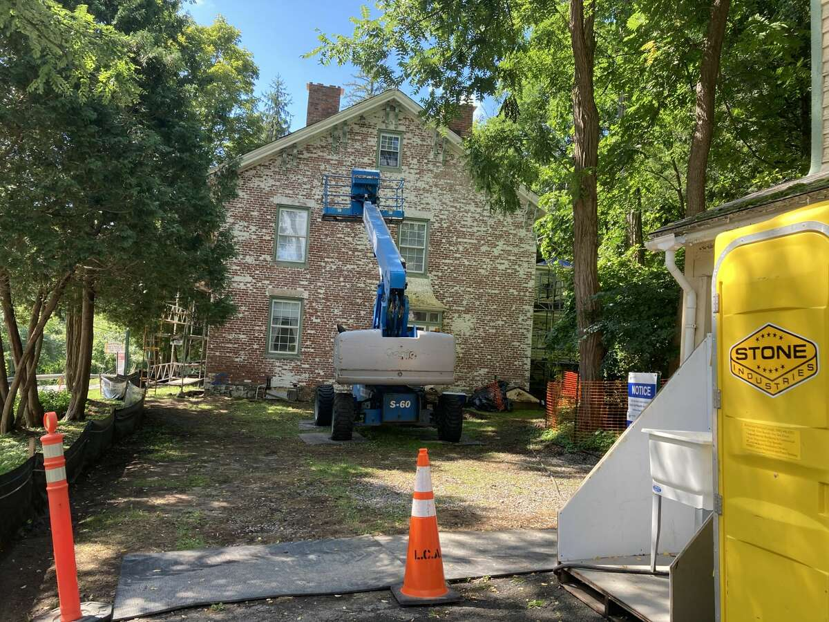 The state Office of Parks, Recreation and Historic Preservation is spending $700,000 to stabilize the Susan B. Anthony's house in Battenville.