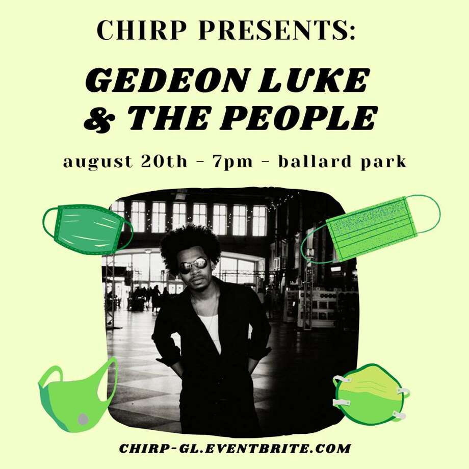 Gedeon Luke & the People will perform Thursday, Aug. 20, at 7 p.m., at Ballard Park, part of the CHIRP concert series. Photo: CHIRP / Contributed Photo
