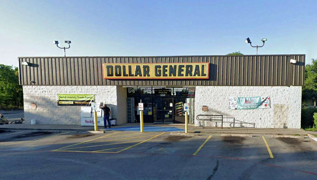 The Dollar General store 3350 SW Military Drive in San Antonio was the site of three robberies over the course of just under a year.