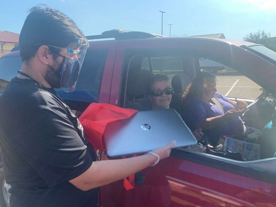 UISD hosted a supply drive Monday at the SAC for families in the Migrant and McKinney Vento prgorams. Photo: Courtesy Of UISD