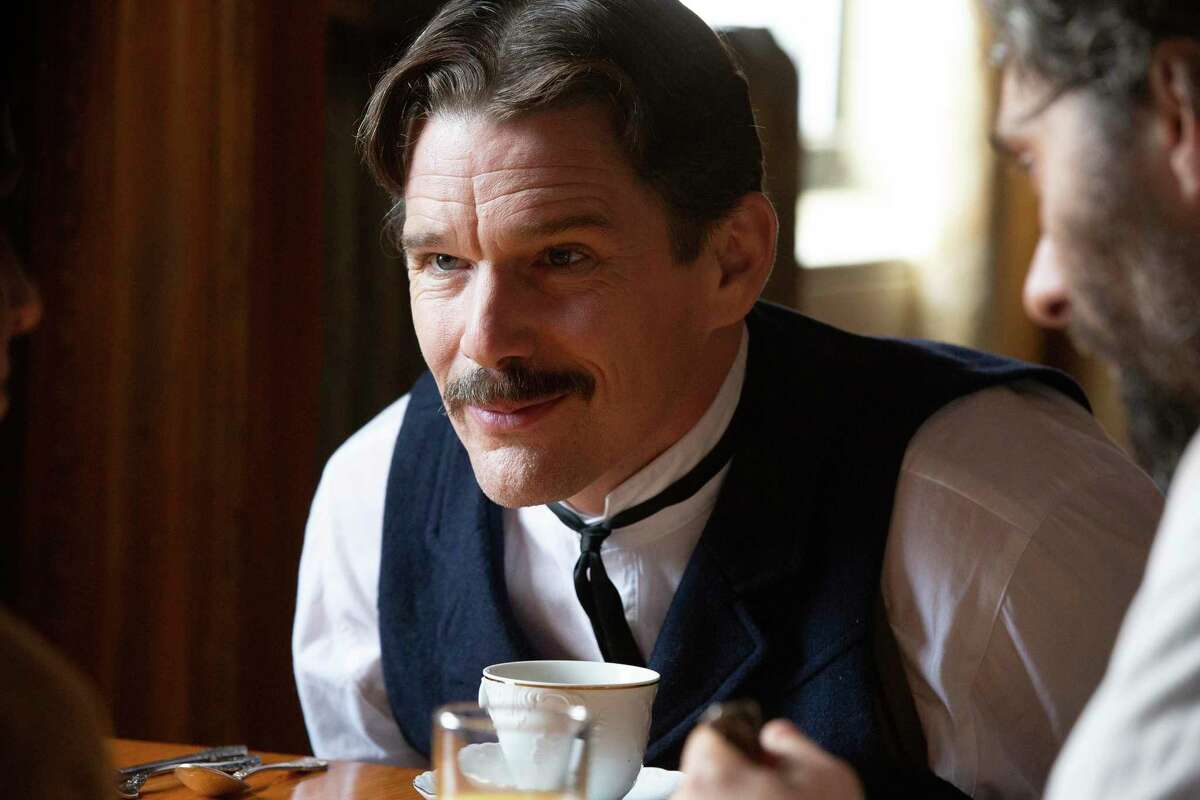 Ethan Hawke stars as the inventor Nikola Tesla in the biopic