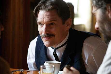 "Ethan Hawke stars as the inventor Nikola Tesla in the biopic ""Tesla."""