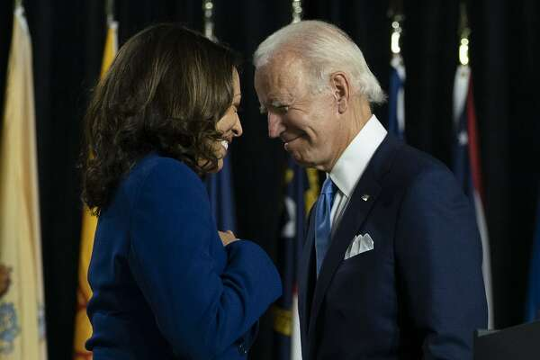 Running Mate Kamala Harris Aims For Great Heights Sfchronicle Com