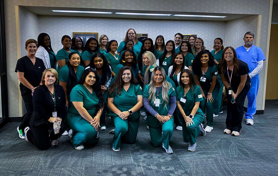 Midland College vocational nursing students were pinned at a ceremony on Thursday. Photo: Courtesy Photo