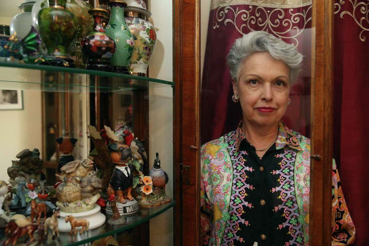 Denise G. sells curios, phonographs and other items from her home business. She said she has faced long delays lately in Postal Service deliveries.