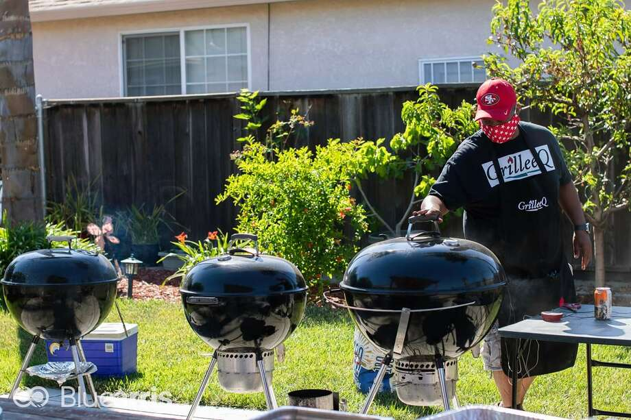 Lee Thomas runs a barbecue business out of his San Leandro home called GrilleeQ. In his spare time, he advocates for Alameda County to adopt AB-626, the California Homemade Food Act, which would legalize small-scale home food operations. Photo: Blue Arris