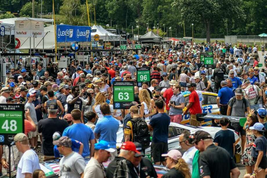 Lime Rock Park's annual Labor Day Historic Festival will run as a non-spectator event, while the Sunday in the Park Concours will proceed with a limited number of spectators, officials recently announced. Photo: Lime Rock Park / Contributed Photo /