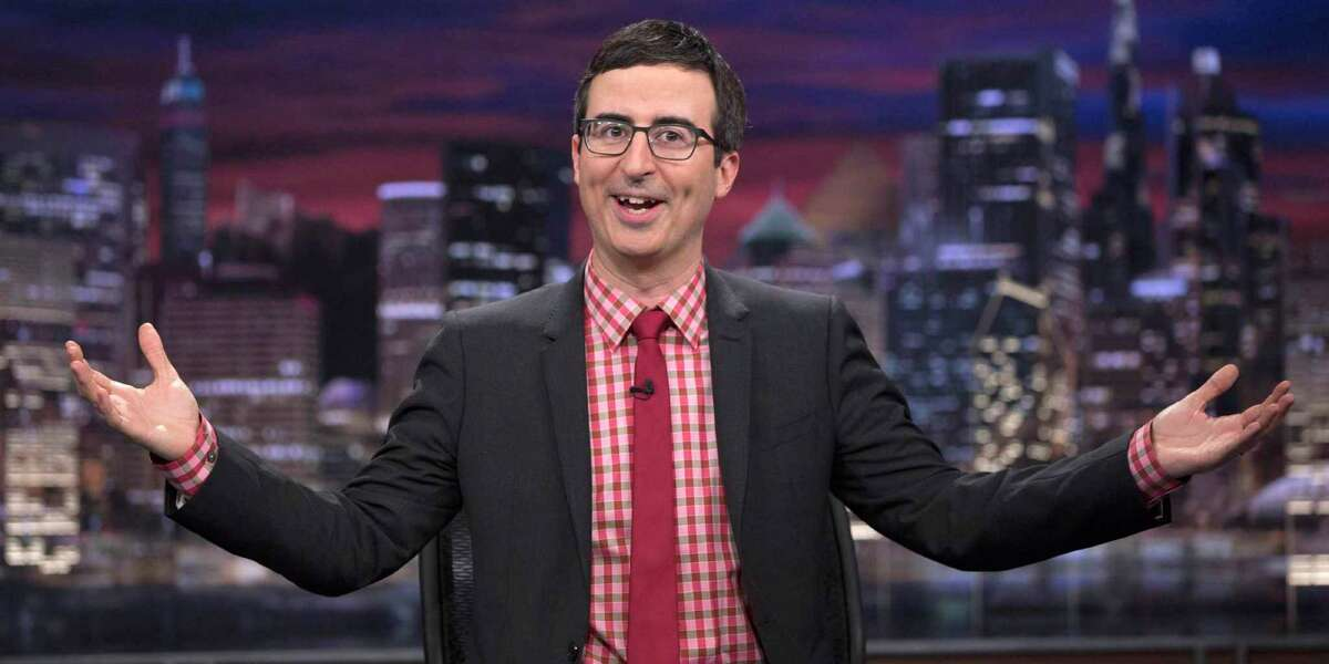 Award winning writer, comedian, and host of the HBO show, John Oliver.