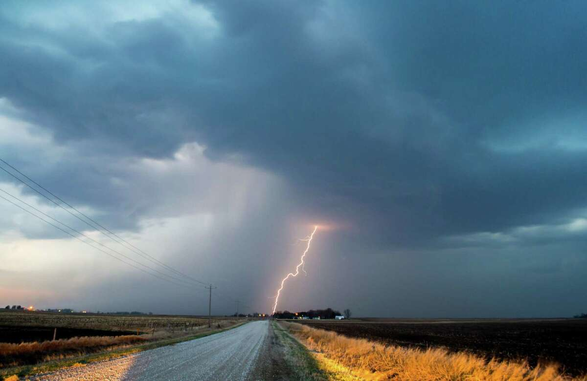Being caught outdoors in a thunderstorm on land or the water is a dangerous situation.