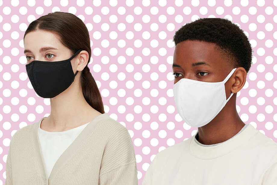 Uniqlo is releasing Airism masks in the U.S. on Aug. 24. The masks sold out in Japan within a few hours. Photo: Uniqlo/Hearst Newspapers