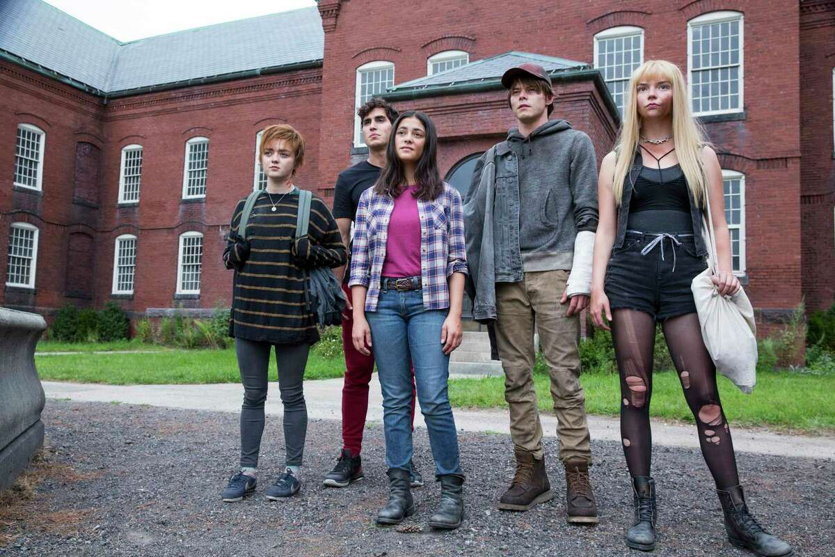 """Maisie Williams, Henry Zaga, Blu Hunt, Charlie Heaton and Anya Taylor-Joy star in """"The New Mutants,"""" which opens Aug. 28 in theaters."""