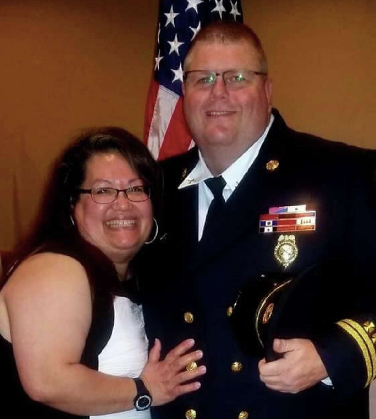 Fire Captain Bryant Anderson, a 16-year veteran of the Converse Fire Department, died Tuesday after a battle with COVID-19.