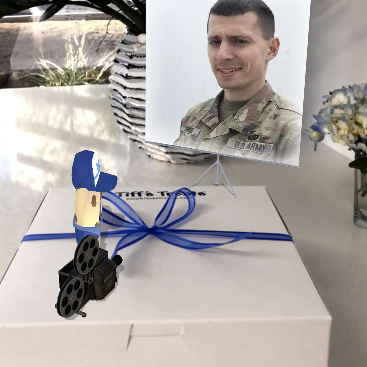 Tiff's Treats, an Austin-based cookie delivery company, partnered with the Soldiers' Angels charity organization to launch the program.