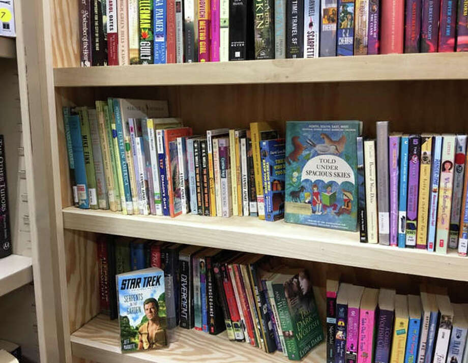 """A large selection of """"Here's to Reading"""" books for all ages vary from location to location. Photo: Submitted Photos