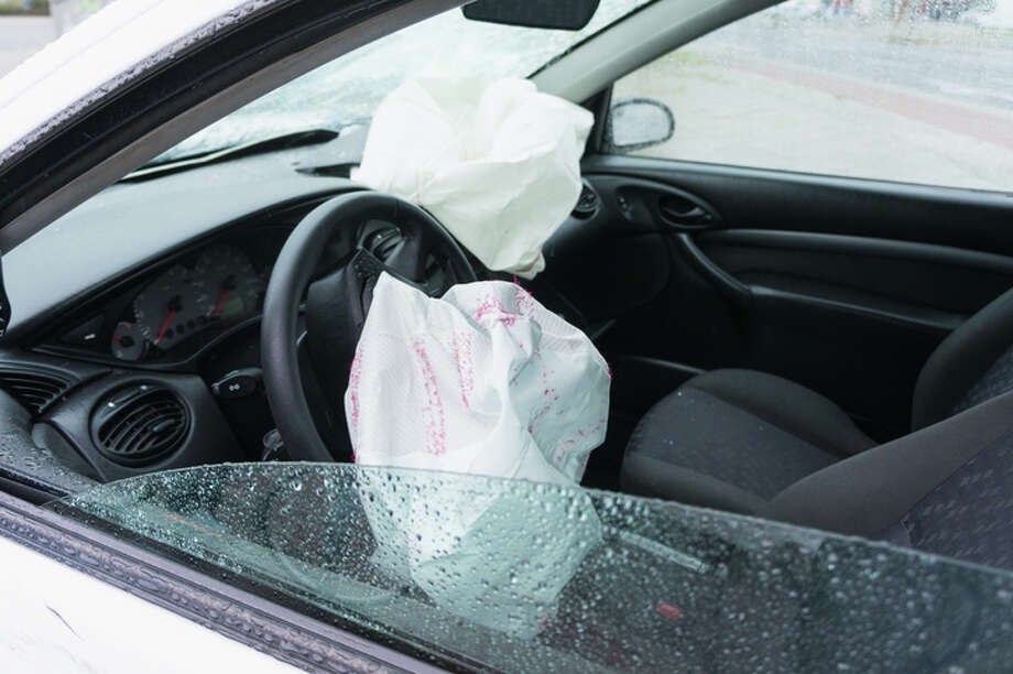 Air bags are meant to protect drivers and passengers in the event of a crash, but some manufactured by the Takata Corp. might instead explode when deployed. Photo: Michael Zwahlen