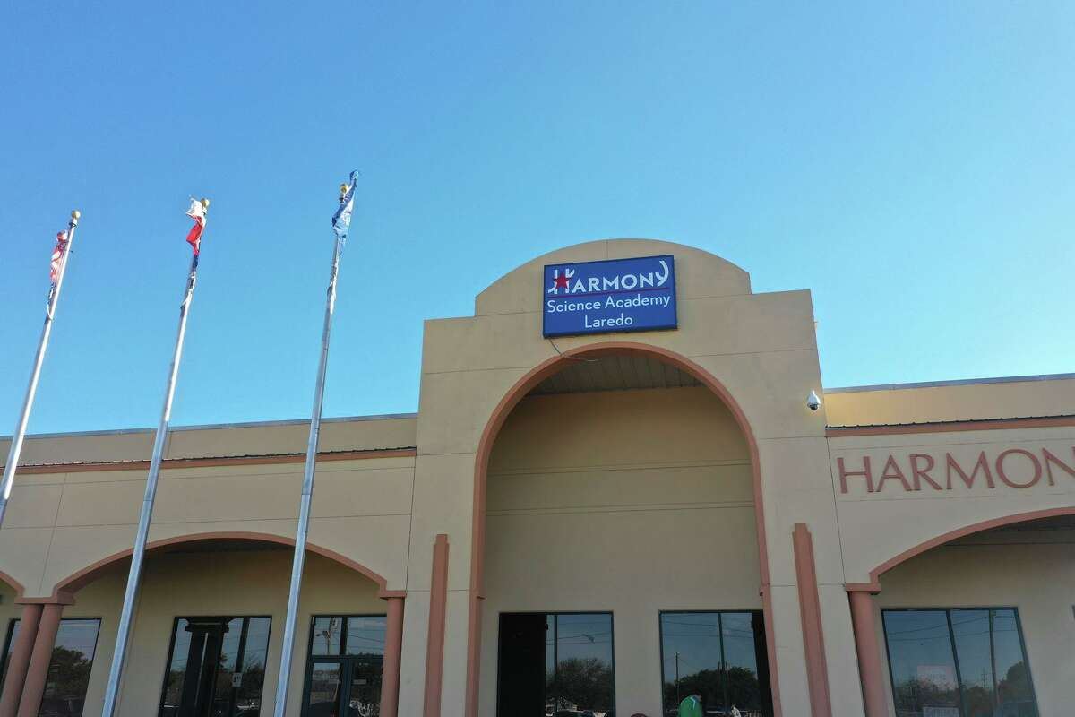 All three Harmony campuses in Laredo began virtual instruction Monday with 1,855 students enrolled and participating.