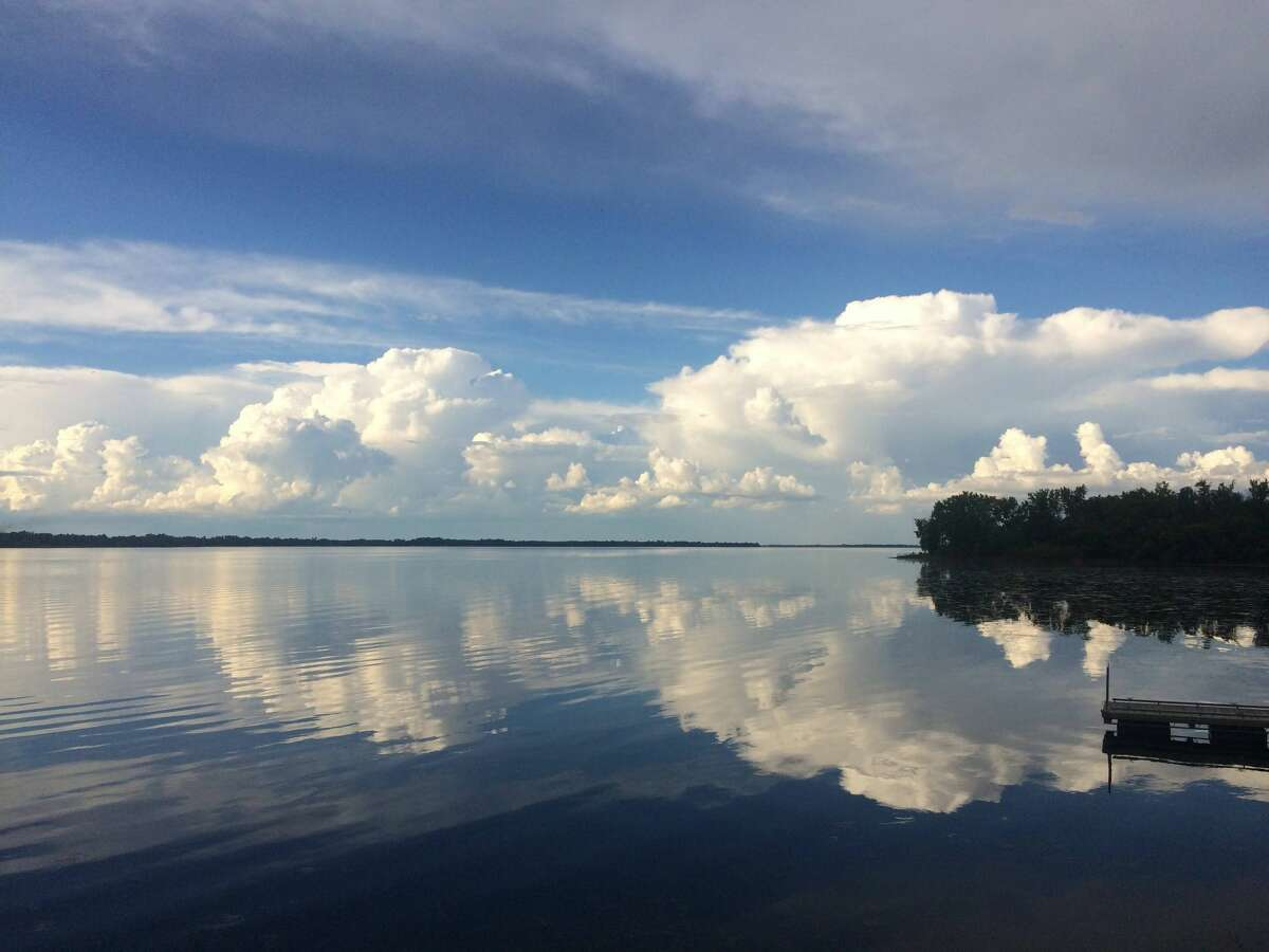 This photo was taken by David Lindholm on July 30, 2020. Dave was fishing in Vermont on Lake Champlain.