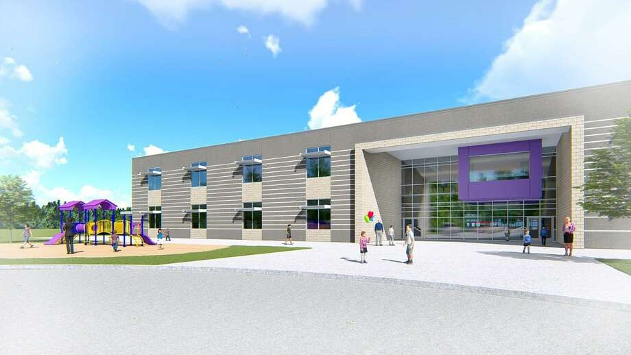 Renderings by Stantec show the exterior and interior view of the new elementary no. 6 that the Willis Independent School District has started construction on and expects to be completed by June 2021. Photo: Submitted Photos / Submitted Photos