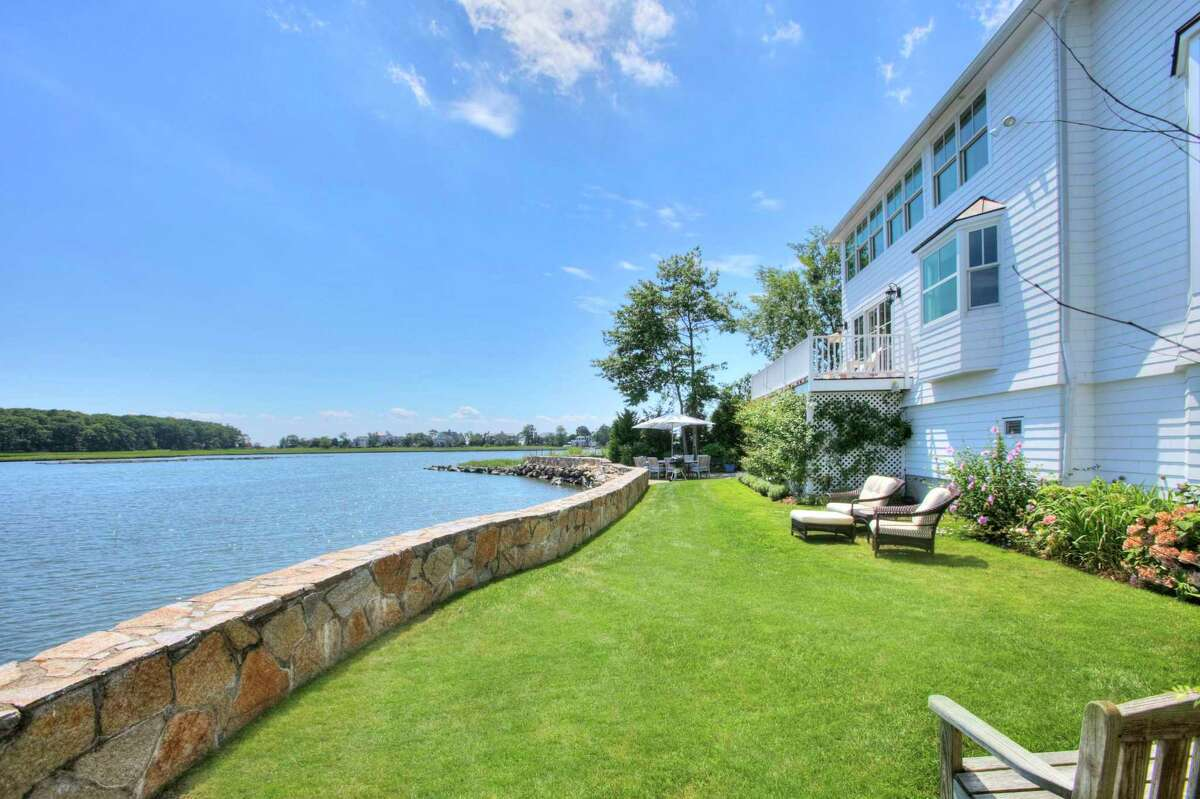 There are water views of Mill Pond and Long Island Sound throughout this property, inside and out. And that's even before seeing the rest of the magnificent gardens or taking in the stunning water views of Compo Mill Cove and Long Island Sound. Westport artist Judy Katz was so mesmerized by this waterfront community and coastal sanctuary that she visited daily for years and her family even rented a home on this body of water that she calls