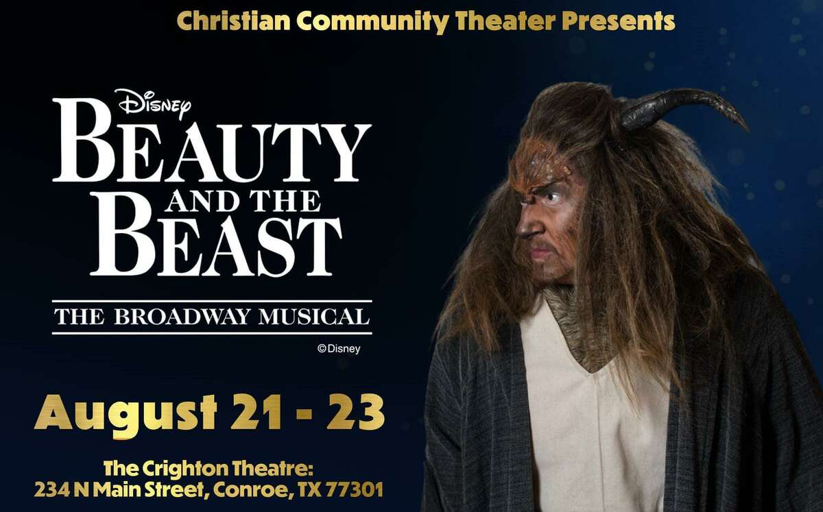 """David Horn as Beast in Christian Community Theater's """"Beauty and the Beast"""" on stage this weekend at the Crighton Theatre."""