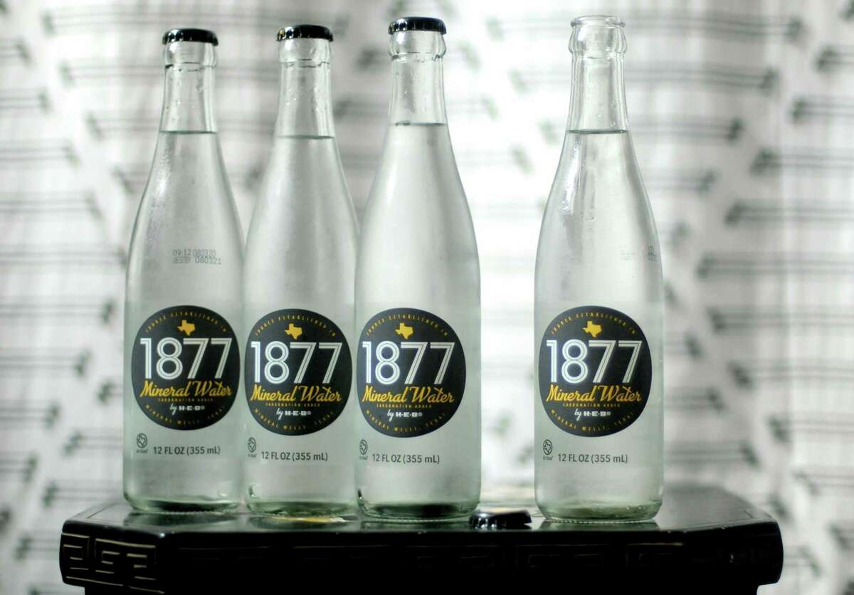 H-E-B launched 1877 Mineral Water made with water from Mineral Wells earlier this summer.