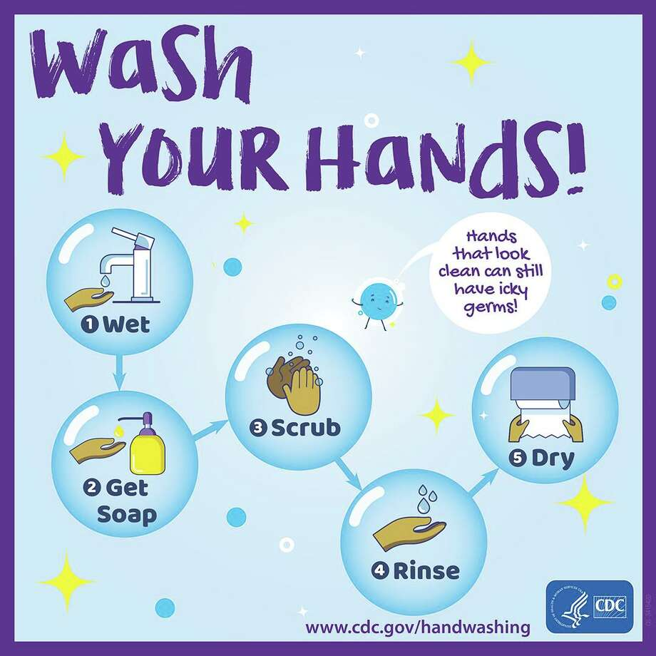 The Centers for Disease Control reminds that washing hands is a necessary step in the battle against the spread of COVID-19. Photo: Centers For Disease Control