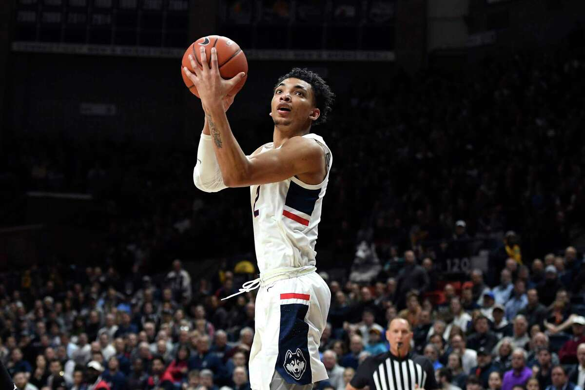 Sophomore phenom James Bouknight and the UConn men's basketball team open their season on Wednesday night against Central Connecticut State at Gampel Pavilion.