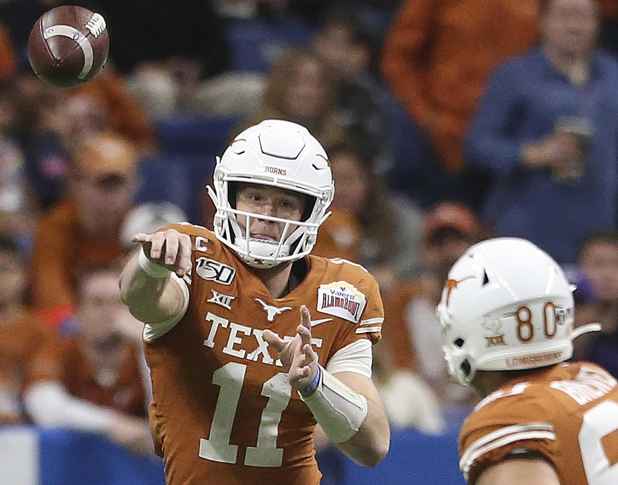 Texas Qb Sam Ehlinger Adjusting To The New Reality Houstonchronicle Com