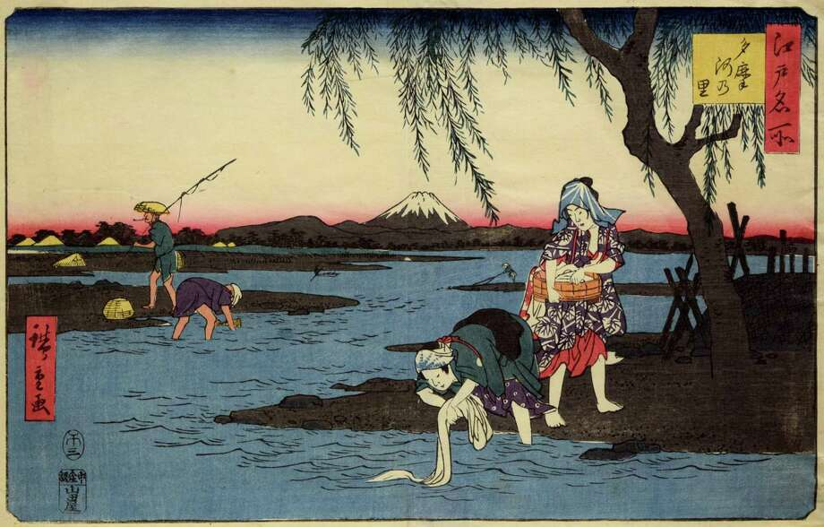 The Bruce Museum is opening a new exhibition titled, 'Floating Beauty — Women in the Art of Ukiyo-e.' The exhibition opens on Sept. 1. Photo: Contributed / Courtesy Of The Bruce Museum