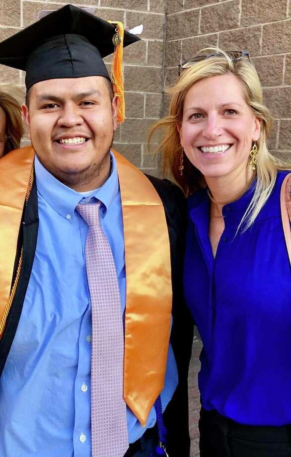 Brian Castro and Beth Williams. Photo: Future 5 / Contributed Photo