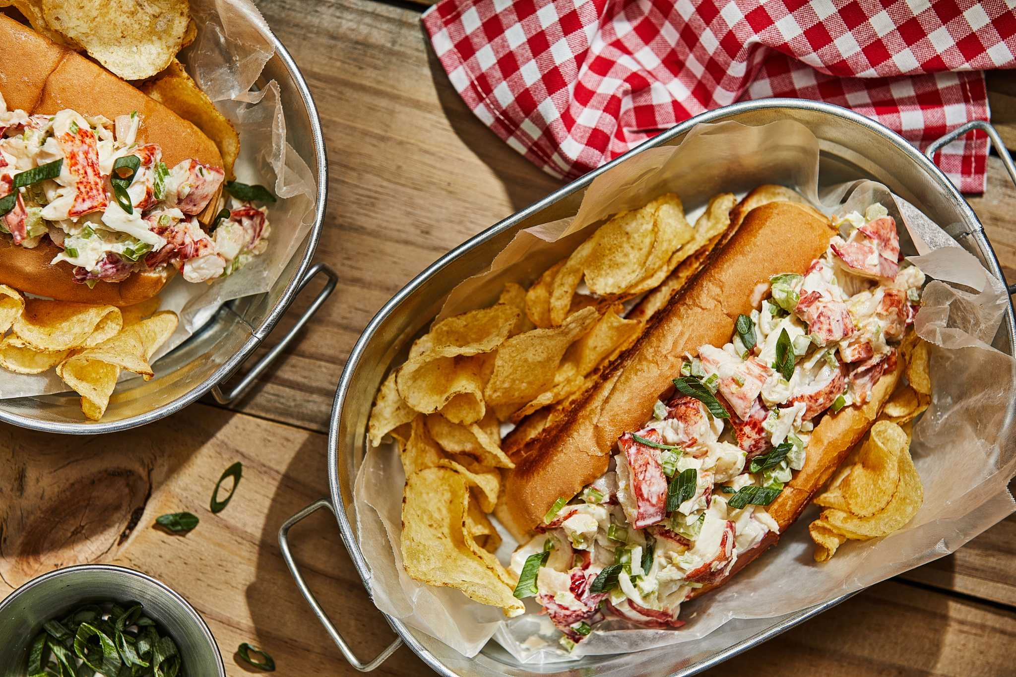 These Maine-style lobster rolls deliver a taste of New England summer - in your kitchen