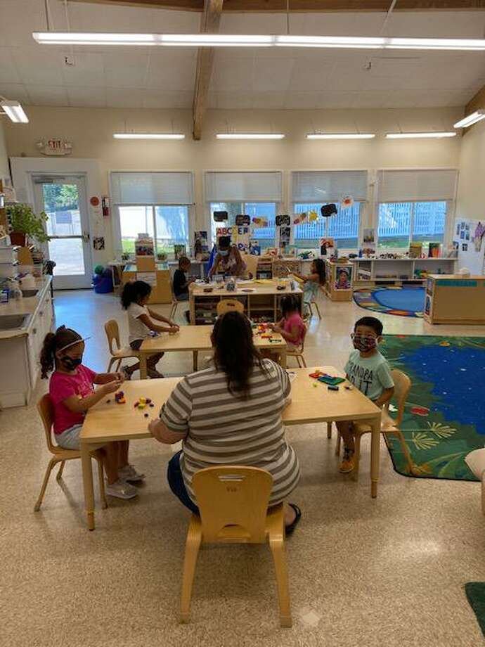 A class at CLC Palmer's Hill location in Stamford. Photo: Children's Learning Centers Of Fairfield County / Contributed Photo