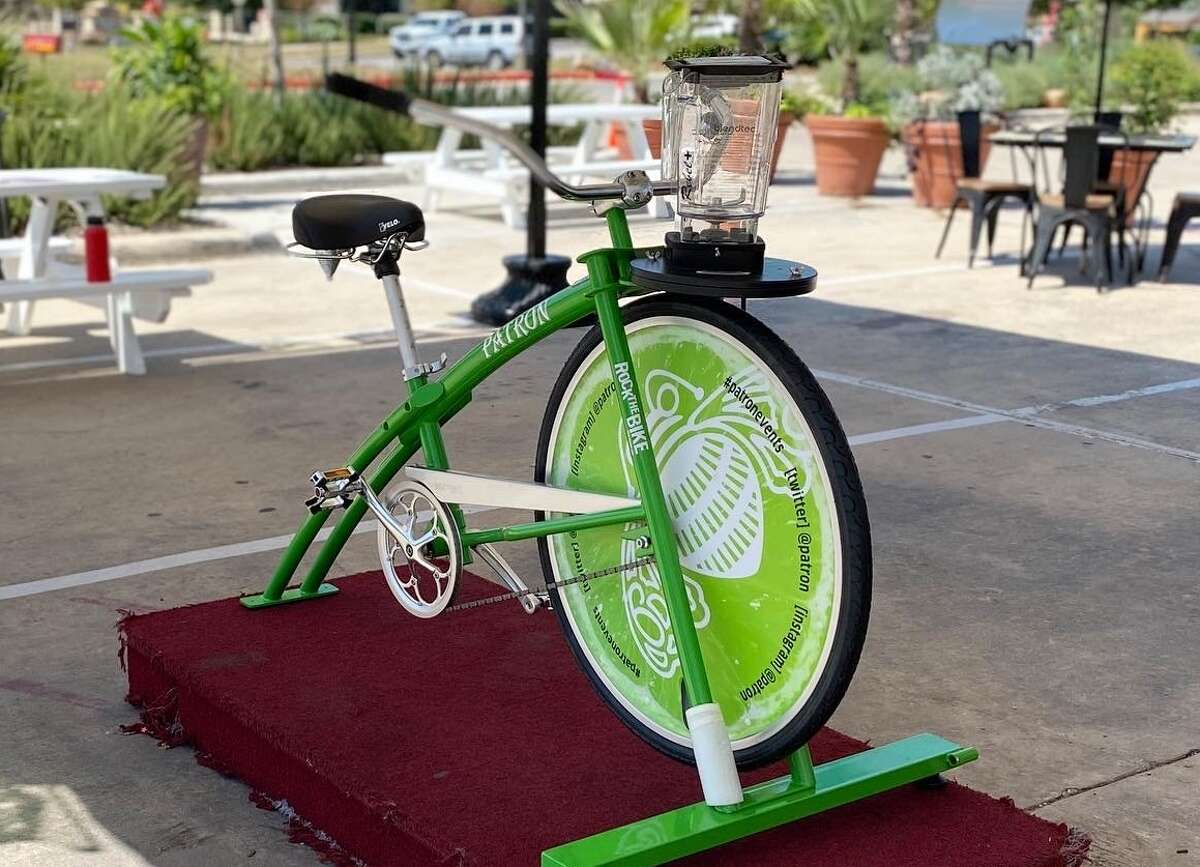 """""""Just hop on the bike, pick your flavor and our bartender will fill up your blender,"""" a spokeswoman for the restaurant said. """"From there, you pedal away until your margarita is fully blended!"""" Each pedal-pushing patron will burn about 10 calories in the process of making one pitcher."""