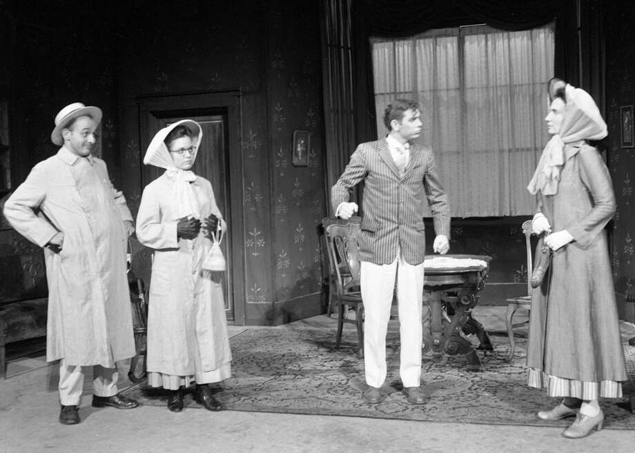"""The play """"Ah Wilderness!"""" was put on by the Manistee Summer Theatre at the Ramsdell Theatre in the early 1960s. (Manistee County Historical Museum photo)"""
