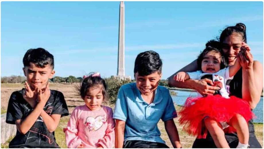 Kenia Madrigal found herself homeless and nowhere to go with her four children after being evicted from her home. A co-worker set up a GoFundMe account that has raised over $40,000 to help Madrigal. Photo: Screenshot GoFundMe Page
