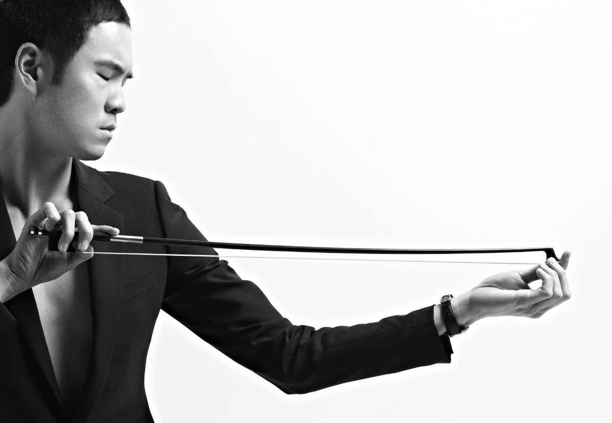 Violinist Richard O'Neill.