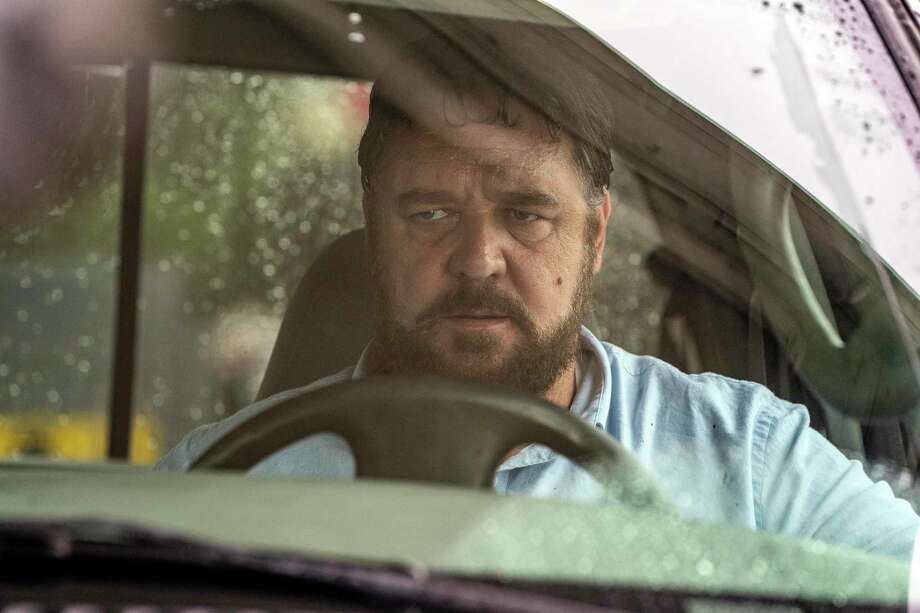 """This image released by Solstice Studios and Ingenious Media shows Russell Crowe in a scene from """"Unhinged."""" (Solstice Studios and Ingenious Media via AP) Photo: Skip Bolen / Solstice Studios / Unhinged Film Holdings LLC"""