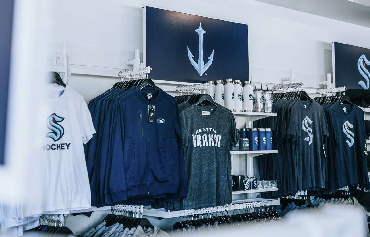 Celebrate the city's newest NHL team, the Kraken, alongside the latest sportswear from a recently-opened Kraken storefront.