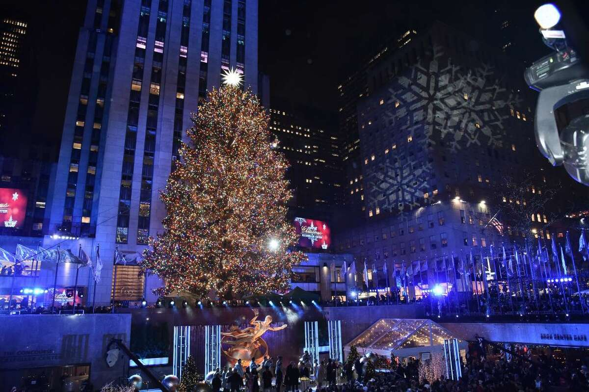 5) Watch a tree lighting.: While many people can't make it to New York City for the Rockefeller Center tree lighting, most towns and cities around the country host an annual lighting ceremony. This outdoor activity often has games for kids as well as festive music to get the whole town in the holiday spirit.