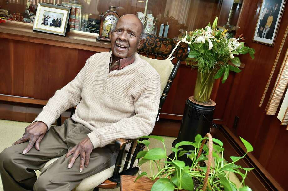 The late Willard McCrae of Middletown was the Middletown Press Person of the Year in 2015. Photo: Hearst Connecticut Media File Photo / New Haven RegisterThe Middletown Press