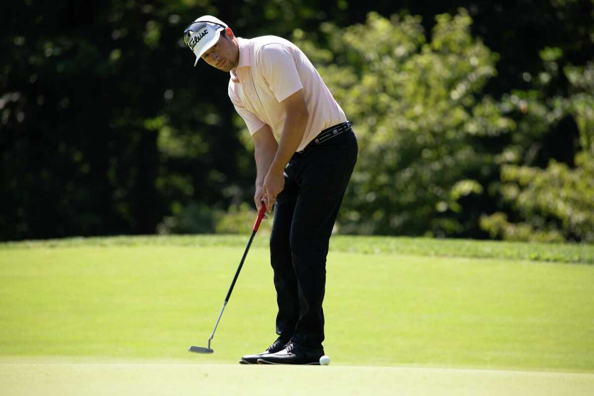 Greenwich's Paul Pastore, shown at last year's Met Open, placed second in this year's edition on Thursday.