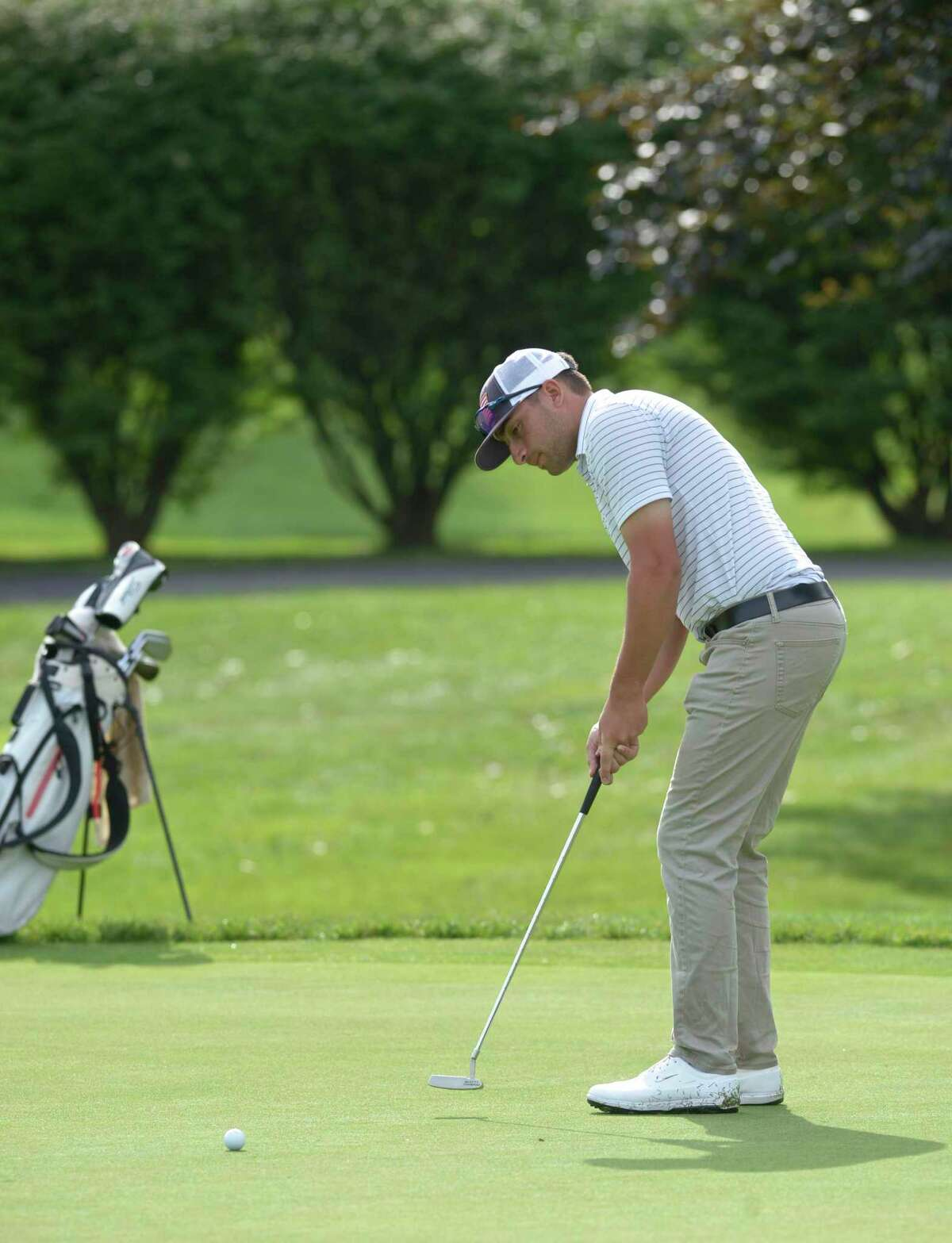 Paul Pastore, shown Aug. 6 at the Connecticut Open, finished second at the Met Open on Thursday.