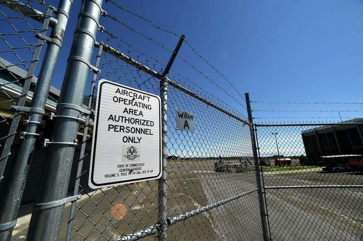 Tweed New Haven Regional Airport in New Haven in 2020.