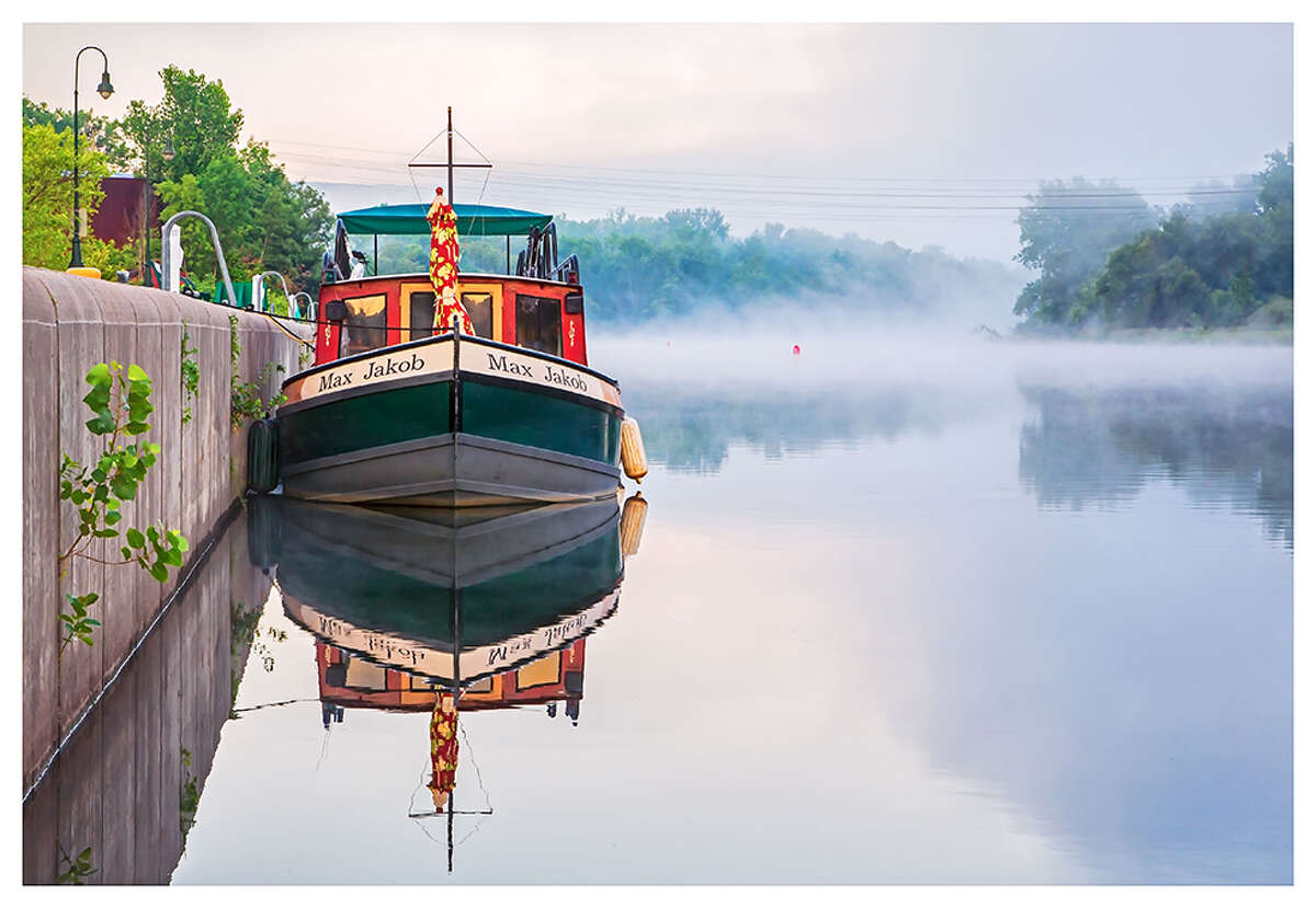 2019 Erie Canalway Photo Contest winner, The Max Jacob on the Erie Canal by Frank Forte. (Submitted photo)