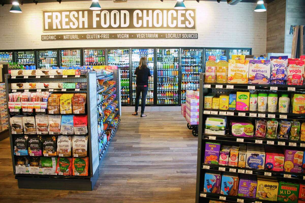A view inside during the grand opening of Alltown Fresh, a fresh convenience market in Schenectady, N.Y.