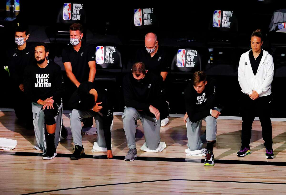 Just as one could be sure the Spurs' embrace of social justice issues could alienate fans, it could also attract fans, with the Spurs leading local NBA TV ratings.